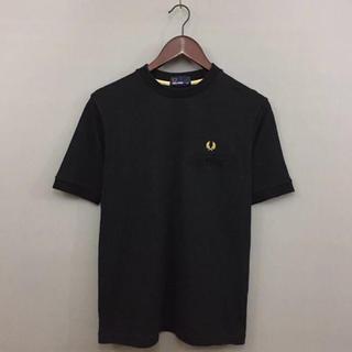 フレッドペリー(FRED PERRY)のフレッドペリー FREDPERRY 半袖 シャツ メンズ XSサイズ ブラック (Tシャツ/カットソー(半袖/袖なし))