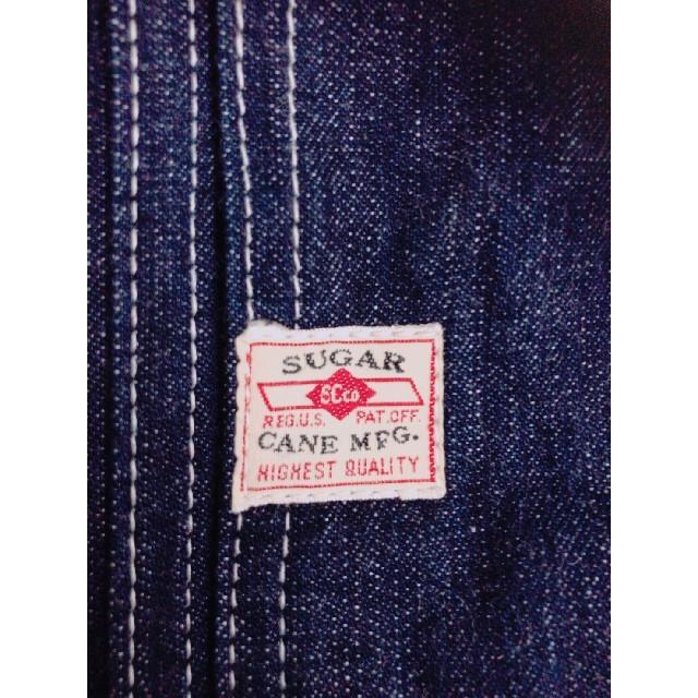 Sugar Cane(シュガーケーン)のシュガーケーン オーバーオール サロペット デニム メンズのパンツ(サロペット/オーバーオール)の商品写真