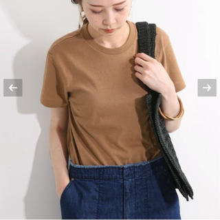 イエナ(IENA)の☆新品未使用タグ付き AURALEE Tシャツ(Tシャツ(半袖/袖なし))