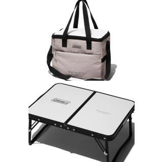 ビューティアンドユースユナイテッドアローズ(BEAUTY&YOUTH UNITED ARROWS)のコールマン×ユナイテッドアローズ★デイリークーラー(保冷バッグ)+ミニテーブル(テーブル/チェア)