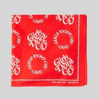 ジーディーシー(GDC)のGirls Don't Cry Cafe バンダナ Amazon カフェ(バンダナ/スカーフ)