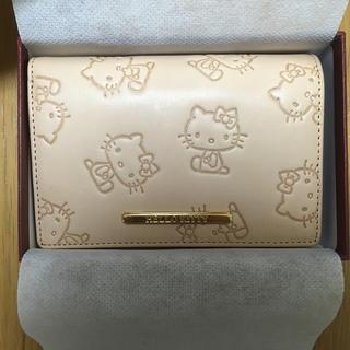 サンリオ(サンリオ)のサンリオ ハローキティ 牛革財布(財布)