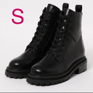 スライ(SLY)のSLY スライ CHUNKY HIKING SHORT BOOTS ブラックS(ブーツ)