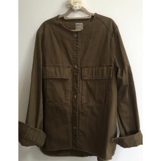 ザラ(ZARA)のZARA ミリタリーシャツジャケット(ミリタリージャケット)