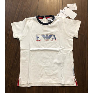 エンポリオアルマーニ(Emporio Armani)の新品未使用 エンポーリオ アルマーニ Tシャツ 24M 92cm(Tシャツ/カットソー)