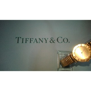 ティファニー(Tiffany & Co.)のTIFFANY&co・K18・ATLAS・watchs(腕時計)