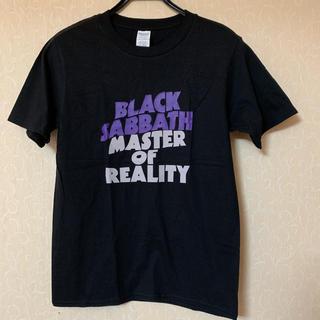 ブラックサバスBlack SabbathメタルバンドTシャツオジーオズボーン黒紫(Tシャツ/カットソー(半袖/袖なし))