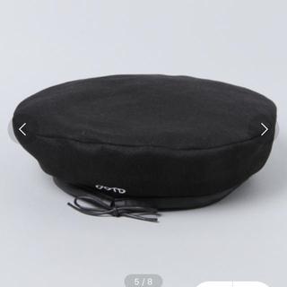 ジーナシス(JEANASIS)のアサパイピングベレー  JEANASIS(ハンチング/ベレー帽)