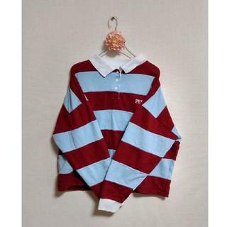 ウィゴー(WEGO)のWEGO ラガーシャツ ポロシャツ トレーナー(ポロシャツ)