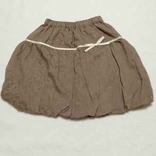 ビケット(Biquette)の120センチ  美品☆リボンつきバルーンスカート(スカート)
