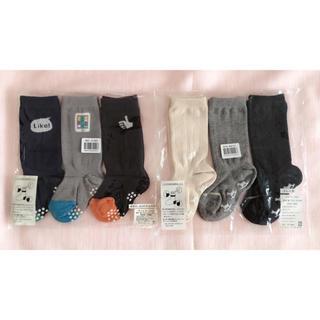 ベルメゾン - 新品 子供靴下 ハイソックス 9~12cm  6足セット