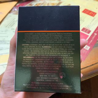 ポロラルフローレン(POLO RALPH LAUREN)のラルフローレンの香水です(その他)