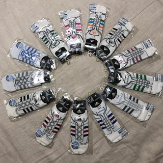 アディダス(adidas)の個包装 adidas ホワイト系 スニーカー ソックス 13足組(ソックス)