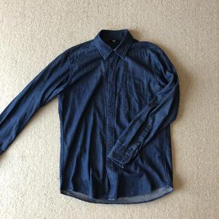 ユニクロ(UNIQLO)の【UNIQLO】デニムシャツ 【Size L】(シャツ)