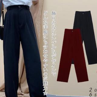 スタイルナンダ(STYLENANDA)のワイドパンツ ブラック 韓国(カジュアルパンツ)