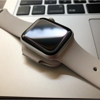 アップルウォッチ(Apple Watch)のAppleWatch series4 GPSモデル(腕時計(デジタル))