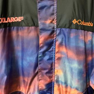 エクストララージ(XLARGE)のXLARGE×Columbia  SUNSET(ナイロンジャケット)