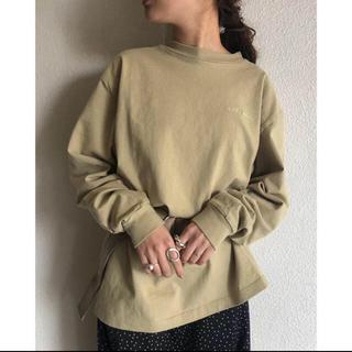 トゥデイフル(TODAYFUL)のLetter Long T-shirts(Tシャツ(長袖/七分))