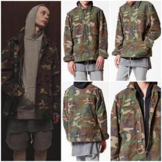 フィアオブゴッド(FEAR OF GOD)のfog camo jacket essentials (ミリタリージャケット)