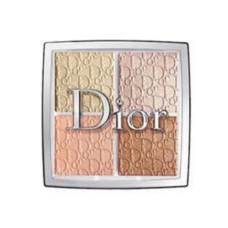 ディオール(Dior)のディオールバックステージフェイスグロウパレット002グリッツ新品未使用(フェイスパウダー)
