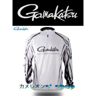 ガマカツ(がまかつ)の残り僅か、値下げしました!がまかつ gamakatsu ドライシャツ XLサイズ(ウエア)