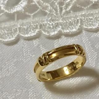 ティファニー(Tiffany & Co.)のティファニー アトラス ゴールドリング(リング(指輪))