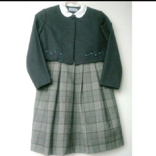 ミキハウス(mikihouse)のお受験 *卒園ご入学*ミキハウスアンサンブル(130)(ドレス/フォーマル)