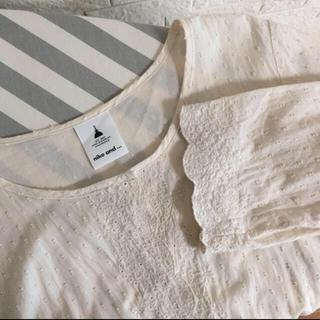 ニコアンド(niko and...)のニコアンド niko and… 刺繍の羽織り ワンピース(シャツ/ブラウス(長袖/七分))