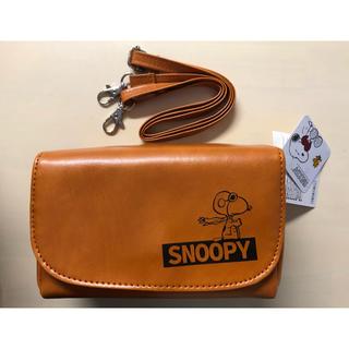 スヌーピー(SNOOPY)のスヌーピー ポシェット ショルダーバッグ バッグ ポーチ 新品(ショルダーバッグ)