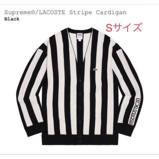 シュプリーム(Supreme)のSupreme LACOSTE Stripe Cardigan S(カーディガン)
