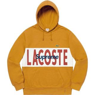 シュプリーム(Supreme)のXL Supreme Lacoste Logo Panel Hoodie(パーカー)