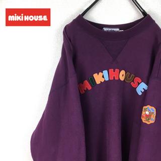 ミキハウス(mikihouse)のMIKI HOUSE ミキハウス スウェット メンズ Mサイズ 古着(スウェット)