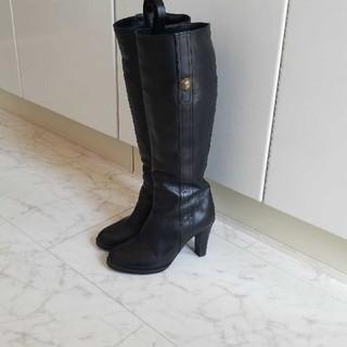 POOL SIDE - プールサイド  ロングブーツ 黒
