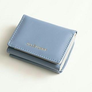 ジルスチュアート(JILLSTUART)のMORE 11月号 ジル JILLSTUART 財布 ブルー(ファッション)