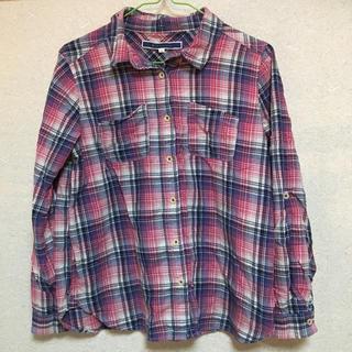 ジエンポリアム(THE EMPORIUM)のチェックシャツ(シャツ/ブラウス(長袖/七分))