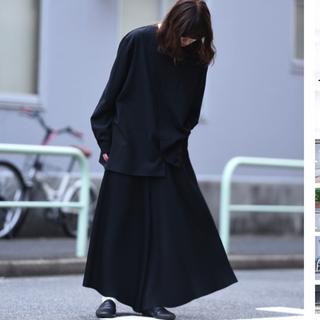 LAD MUSICIAN - bishool pleats 袴 pants ビシュール プリーツ 袴 パンツ