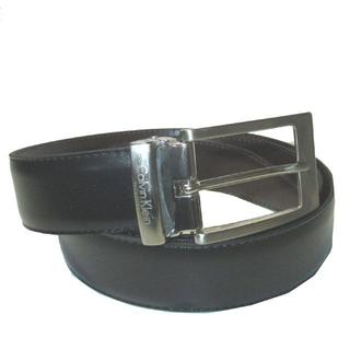 カルバンクライン(Calvin Klein)のカルバンクライン メンズベルト ピンバックルタイプ ブラック NO,D-21(ベルト)