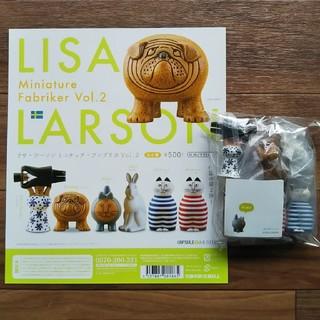 Lisa Larson - 【全6種コンプ】リサラーソン ミニチュア ファブリカ Vol.2