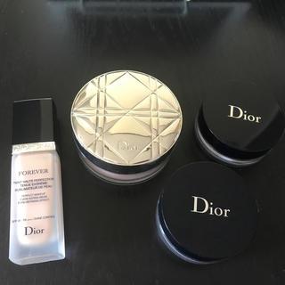 ディオール(Dior)のDior ベースセット(フェイスパウダー)