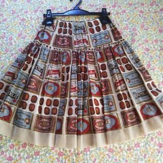 ジェーンマープル(JaneMarple)のジェーンマープル chocolat classique チュチュスカート 新品(ひざ丈スカート)