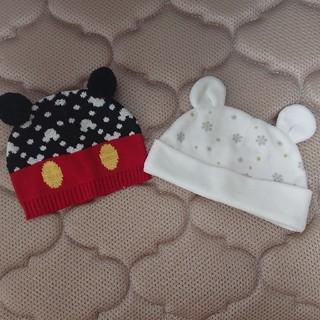 ベビーギャップ(babyGAP)の赤ちゃん帽子2セット♪(帽子)