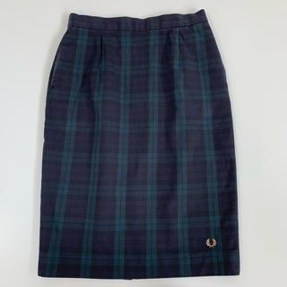 フレッドペリー(FRED PERRY)のチェック柄スカート(ひざ丈スカート)