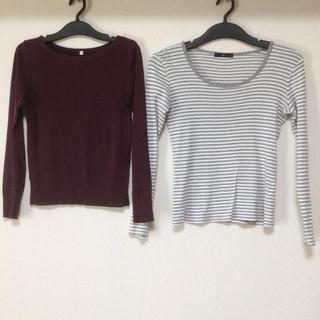 ジーユー(GU)のayumi様専用☆Tシャツ2点セット(Tシャツ(長袖/七分))