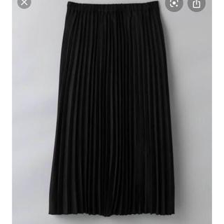 ジーナシス(JEANASIS)のスエードプリーツスカート【未使用】(ロングスカート)