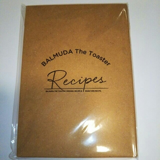 バルミューダ(BALMUDA)のバルミューダ ザ トースター レシピブック(その他)