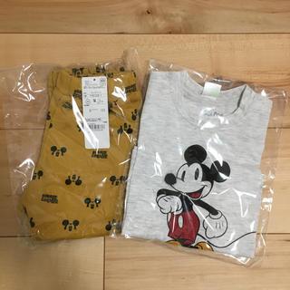 アカチャンホンポ(アカチャンホンポ)のミッキー 長袖Tシャツ パンツセット(Tシャツ/カットソー)