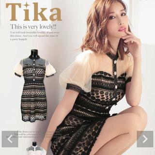 アン(an)のTiKA ドレス(ミニワンピース)