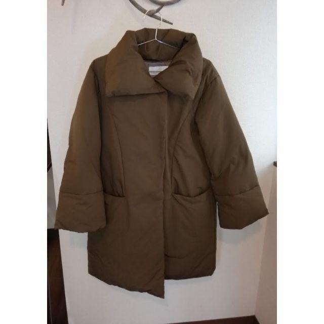 Plage(プラージュ)のPlage スタンドカラーダウンコート ブラウン レディースのジャケット/アウター(ダウンコート)の商品写真