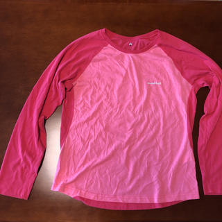 モンベル(mont bell)のmont-bell レディース Lサイズ 長袖Tシャツ(Tシャツ(長袖/七分))