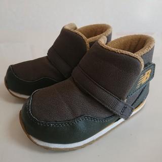 ニューバランス(New Balance)のnew balance ブーツ 14.5cm カーキ(ブーツ)